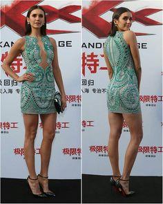NINA DOBREV at 'XXX: The Return of Xander Cage' Premiere in Beijing