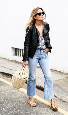Every Fashion Blogger Pledges Allegiance to These Denim Brands via @WhoWhatWear
