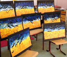Its so nice to see something other than starry night!    art project Vincent van Gogh by dutch-colours, via Flickr