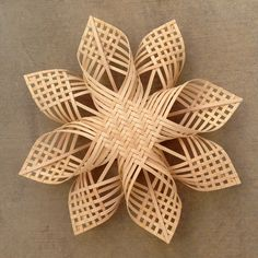 xxl Woven Star Christmas ornament extra large by Baskauta27