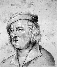 Hans Holbein den Ældre (kopi efter), Portræt af ukendt mand (Statens Museum for Kunst, København).