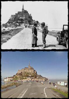 Bassa Normandia Mont Saint-Michel #Giugno1944
