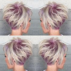 """Alexis Thurston on Instagram: """"Pinky root pixie. Color, cut and styled by me."""""""