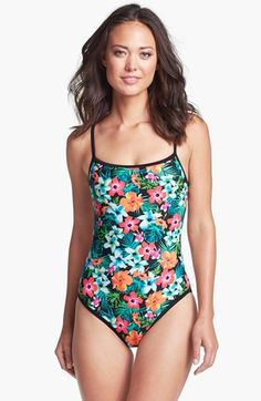 TYR Sport 'Take A Trip' One Piece Swimsuit available at #Nordstrom