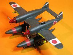 Kawanishi N1K1/2 by Brandzai on DeviantArt