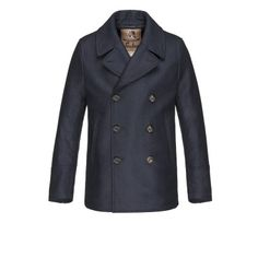 Amalfi Peacoat - Raincoat for men #sealupcollection. Shop it!