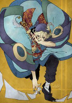 Miharu Illustrations - SilentVoize