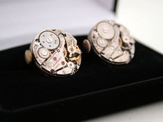 Hey, I found this really awesome Etsy listing at https://www.etsy.com/listing/185661059/watch-cufflinks-weddings-collection