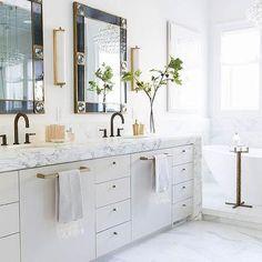 Marble Waterfall Bath Vanity Countertop