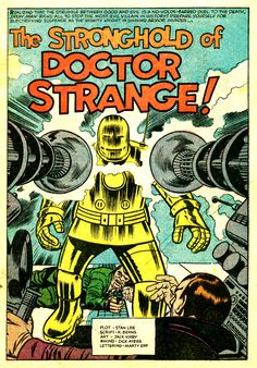 The Stronghold Of Doctor Strange by Jack Kirby & Dick Ayers