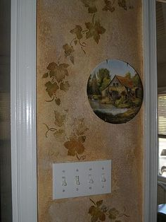 Kitchen and Dining Room  How to Decorate With Tuscan Wall Dcor Stencils
