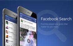 Facebook : Modification importante dans le moteur de recherche