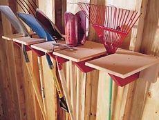 Как навести порядок в гараже и кладовке / Домоседы
