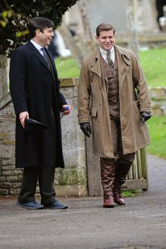 Downton Abbey Season 5 Thomas Barrow and Tom Branson