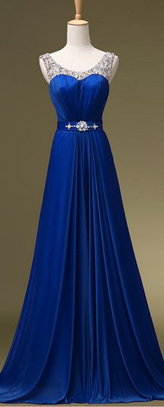 ROYAL BLUE Prom Dresses EVENING DRESSES Prom Gown,Formal Prom Dresses                                                                                                                                                     More
