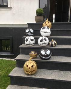 Halloween græskar.