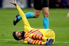 Another huge blow for Barcelona as Pique suffers knee ligament injury - FOOTBALL FLAME