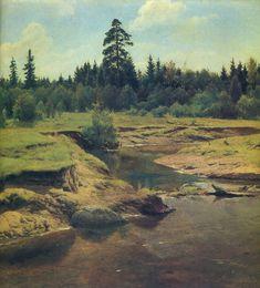 Vladimir Aleksandrovich Serov Paintings-Landscape, 1950