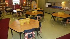 Great classroom! So homey and well- organized