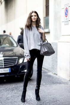 Street Style: A Color Combination Guaranteed To Look Stylish   Le Fashion   Bloglovin'
