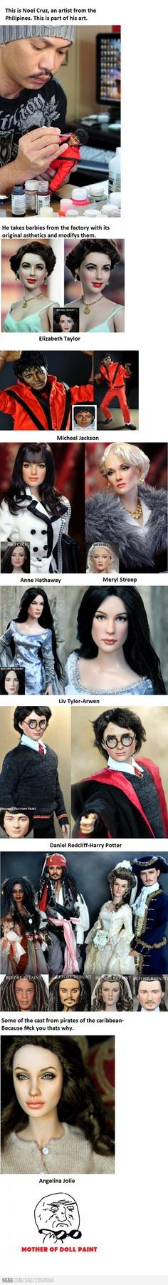 Epic Doll Art