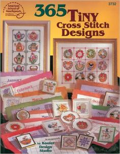 365 Tiny Cross Stitch Designs: DRG: 9780881959437: Amazon.com: Books