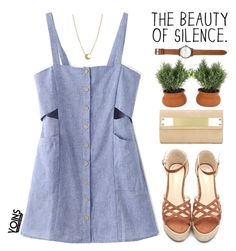 """""""Yoins 33"""" by mihreta-m ❤ liked on Polyvore featuring Jack Spade, Dogeared and yoins"""