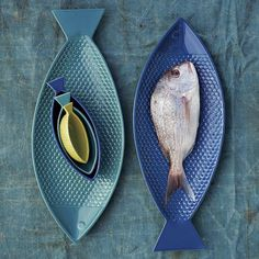 Fish-shaped serveware from West Elm.