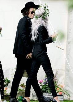 Harry and Lou at Jay's wedding 7/20