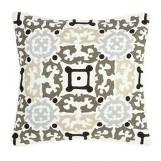 """One of my favorite discoveries at ChristmasTreeShops.com: 18"""" Scroll Patterns Throw Pillow"""
