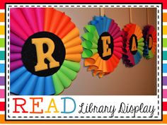 school library decor read every day - Bing images School Library Displays, Library Themes, Classroom Displays, Classroom Themes, Library Ideas, Classroom Organization, School Libraries, School Library Decor, Library Work