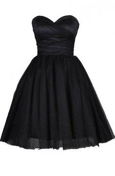 Short Homecoming Dress,Tulle Homecoming Dress,Black Homecoming Dresses,Short Prom Dress