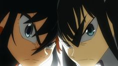 Kill la Kill | Ryuko Matoi vs Satsuki Kiryuin #Kill la Kill #Ryuko Matoi #Satsuki Kiryuin #Love #Stare #Glare #Battle #Sexy anime (1280×720)