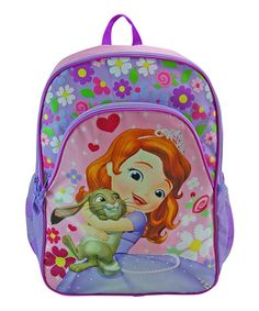 Love this Purple Sofia the First Backpack on #zulily! #zulilyfinds