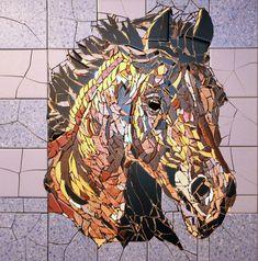 Horse head 1 50 x 56 cm