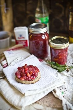 Adventures in Cooking: Cherry Jam with Honey, Black Pepper, and Orange Blossom