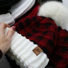 Ravelry: Buffalo Plaid Family Hat Set pattern by MJ's Off The Hook Designs Plaid Crochet, Crochet Bebe, Crochet Socks, Crochet Gifts, Crochet Stitches, Free Crochet, Crochet Patterns, Crochet Headbands, Sock Monkey Pattern