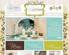 Professional e-Commerce Wordpress Website Design Online Boutique Shop Shopping Web Store - Host Anywhere - No Hidden Fees SETUP in days! Wordpress Website Design, Web Inspiration, Website Template, Online Boutiques, Ecommerce, Banner, Shopping Web, Templates, Day