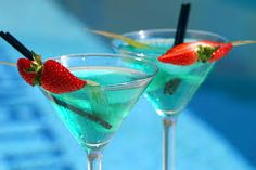 cocktails.......................perfect for the summer