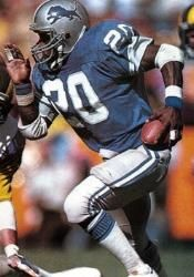 Billy Sims 1980-1984, was the 1980 Offensive Rookie and then injury and then that was it!