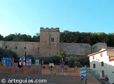 Castillo de Denia .Spain .