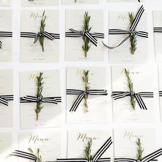 A wedding tradition steeped in symbolic meaning, fresh herbs are a beautiful addition to any contemporary #wedding. A sign of remembrance, fidelity, and luck, we're in love with the addition of rosemary to these #MintedWeddings designs by @HoorayCreative. Snap by WhiteBlossomEvents. Shop now and enjoy 15% off your order during our Fall Wedding Event.