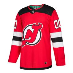 New Jersey Devils Adidas Nhl Men s Climalite Authentic Team Hockey Jersey b94050759