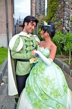 Prince Naveen and Princess Tiana Cosplay by LeleDraw ( Visit my page Here)