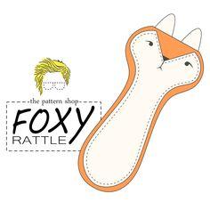 Image of Foxy Rattle PDF Sewing Pattern