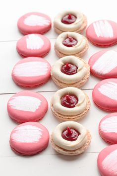 Red Currant Macarons