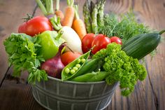 Go green and check out the top 10 healthiest vegetables of them all. Can you guess which is No. 1?