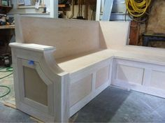 Banquette build....my first furniture attempt #1: The beginning - by Woodchuck4 @ LumberJocks.com ~ woodworking community