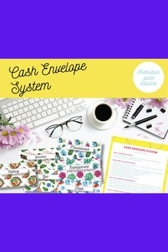 CASH BUDGET ENVELOPE, Finance Planner, Track Your Budget, Dave Ramsey Envelope, Income Tracker, Cash Envelope Wallet (Horizontal envelope set of 6!)  ❤️Get this beautiful floral cash envelope printable to help you control your spending. This is definitely helpful to prevent over spend by visualizing what you have. Get yours today! Cash Envelope Pattern, Envelope Labels, Envelope Budget System, Cash Envelope System, Budget Envelopes, Money Envelopes, Budgeting System, Dave Ramsey, Finance