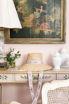 Estilo Shabby Chic, Shabby Chic Style, Rose Cottage, Shabby Chic Cottage, Victoria Magazine, Interior Decorating, Interior Design, Home Office Decor, Home Decor